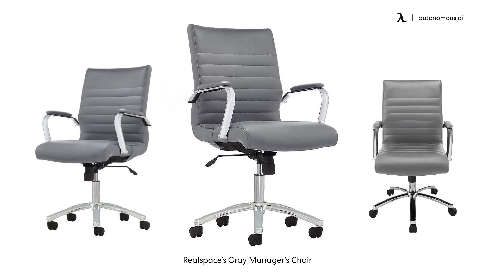 Realspace's Gray Manager's Chair