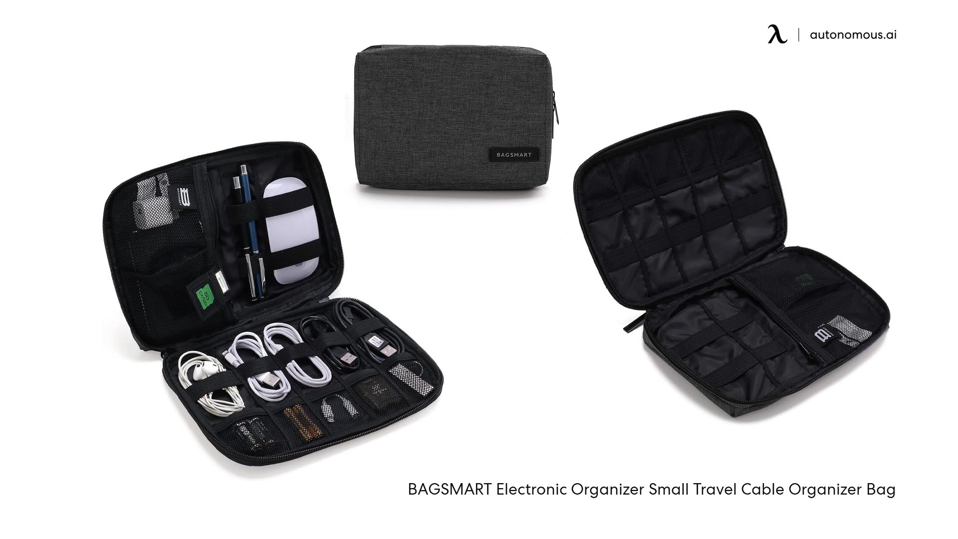 Cables organizers bags - cable management accessories