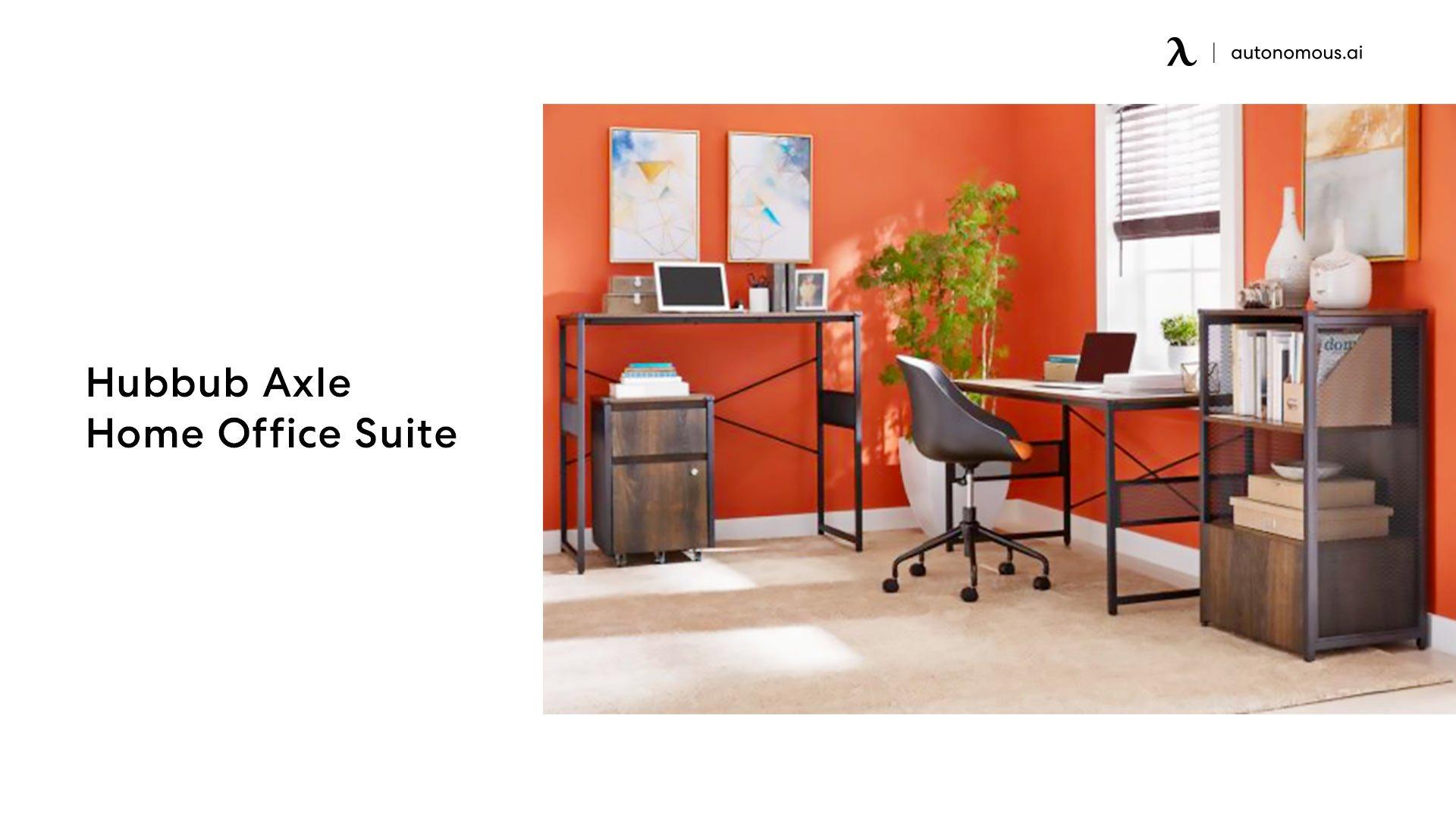 Hubbub Axle Home Office Suite office desk set