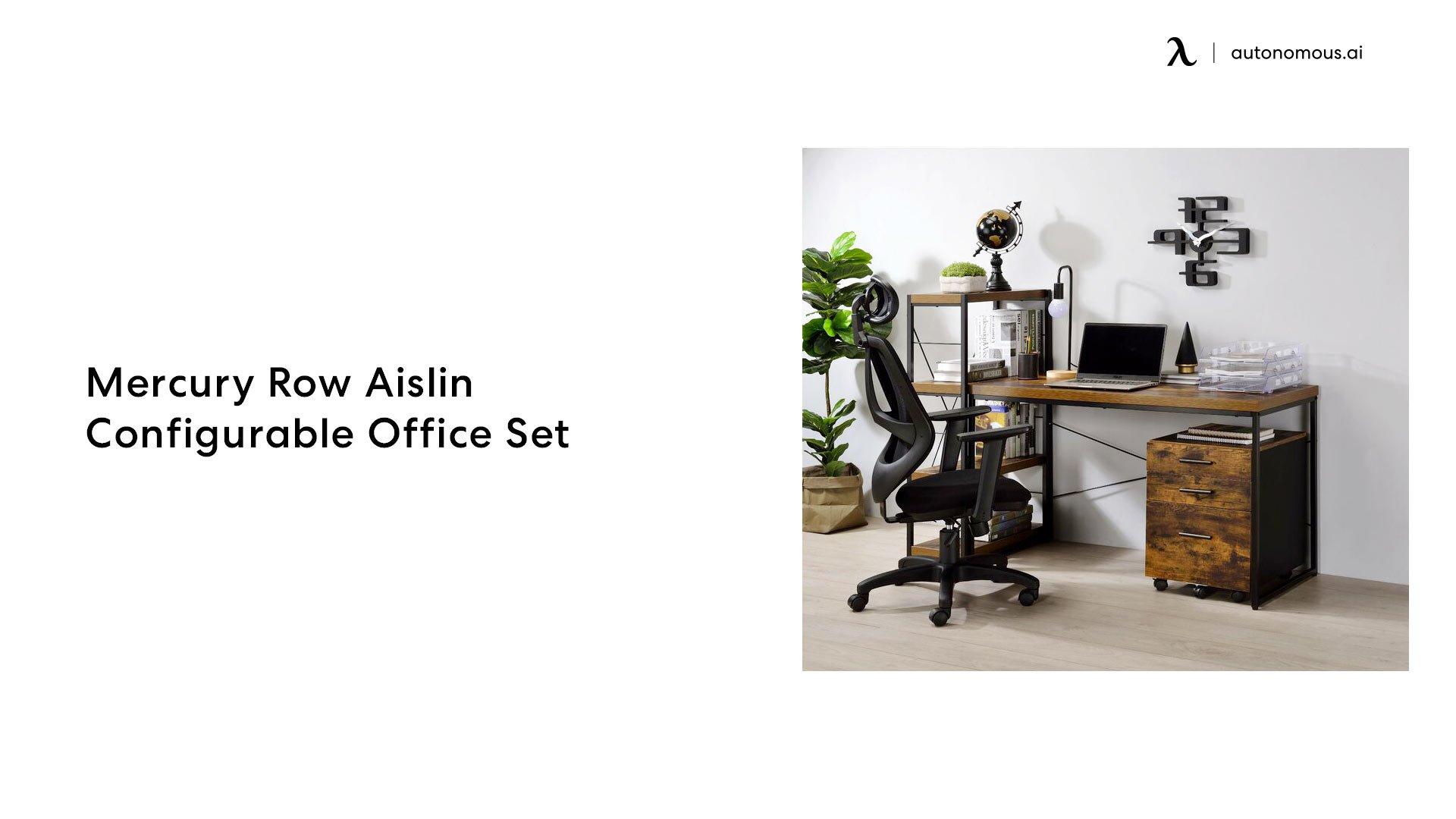 Mercury Row Aislin Configurable Office Set