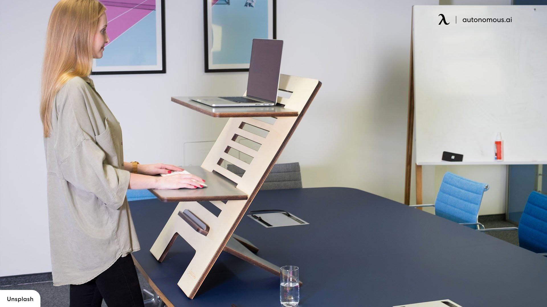 standing desk vs converter