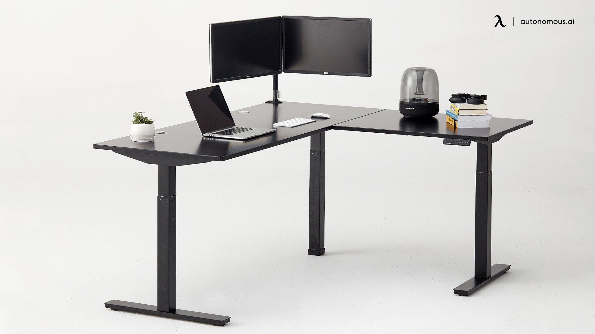 Common L-shaped Desk Dimensions