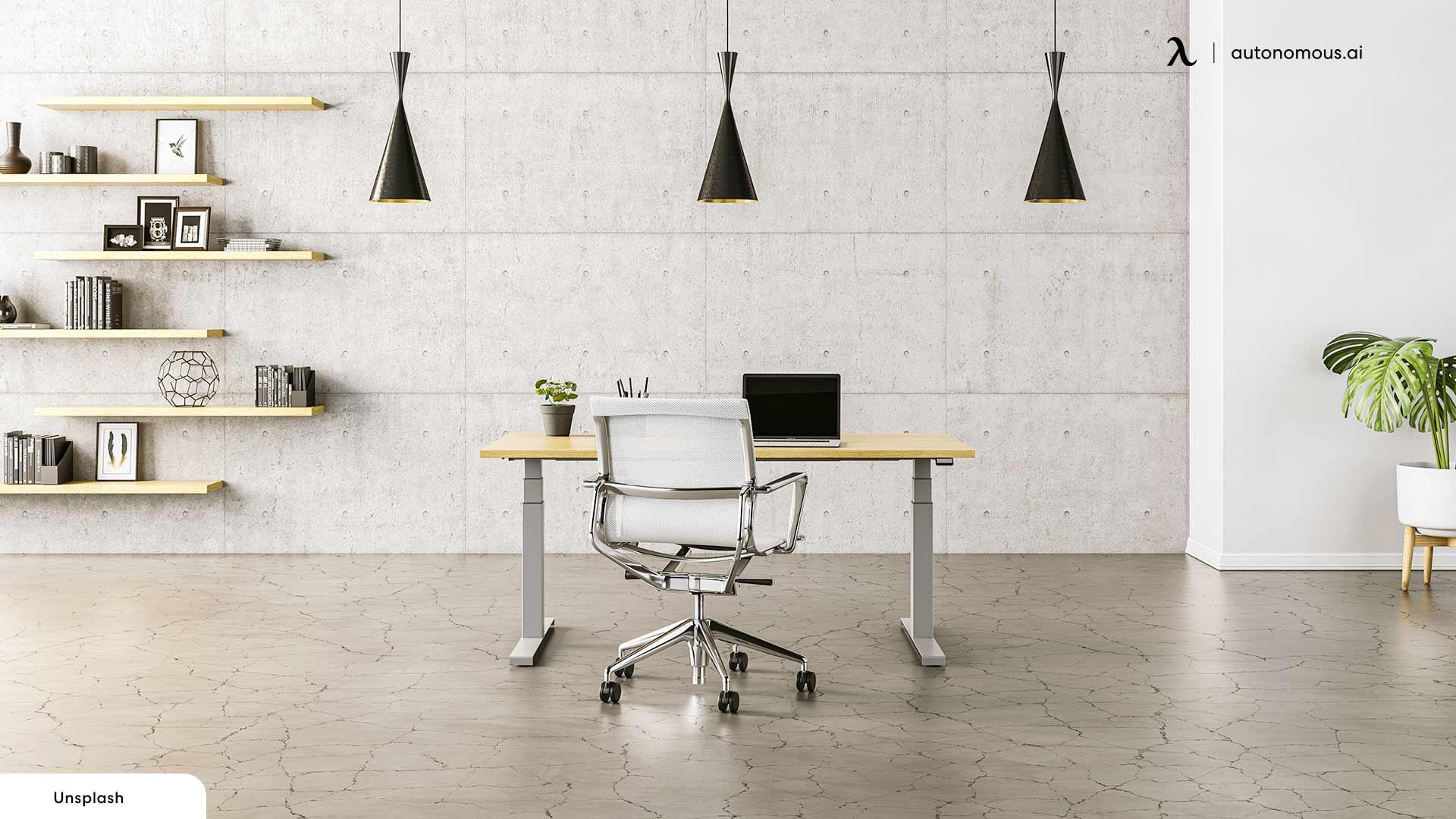 Choose an Area to ergonomic office setup