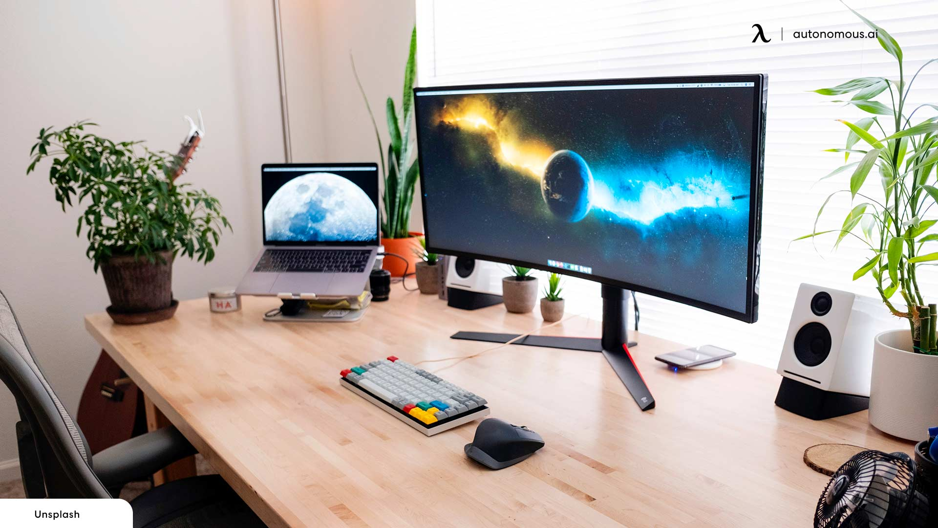 Position Your Monitor, Keyboard, and Mouse Well