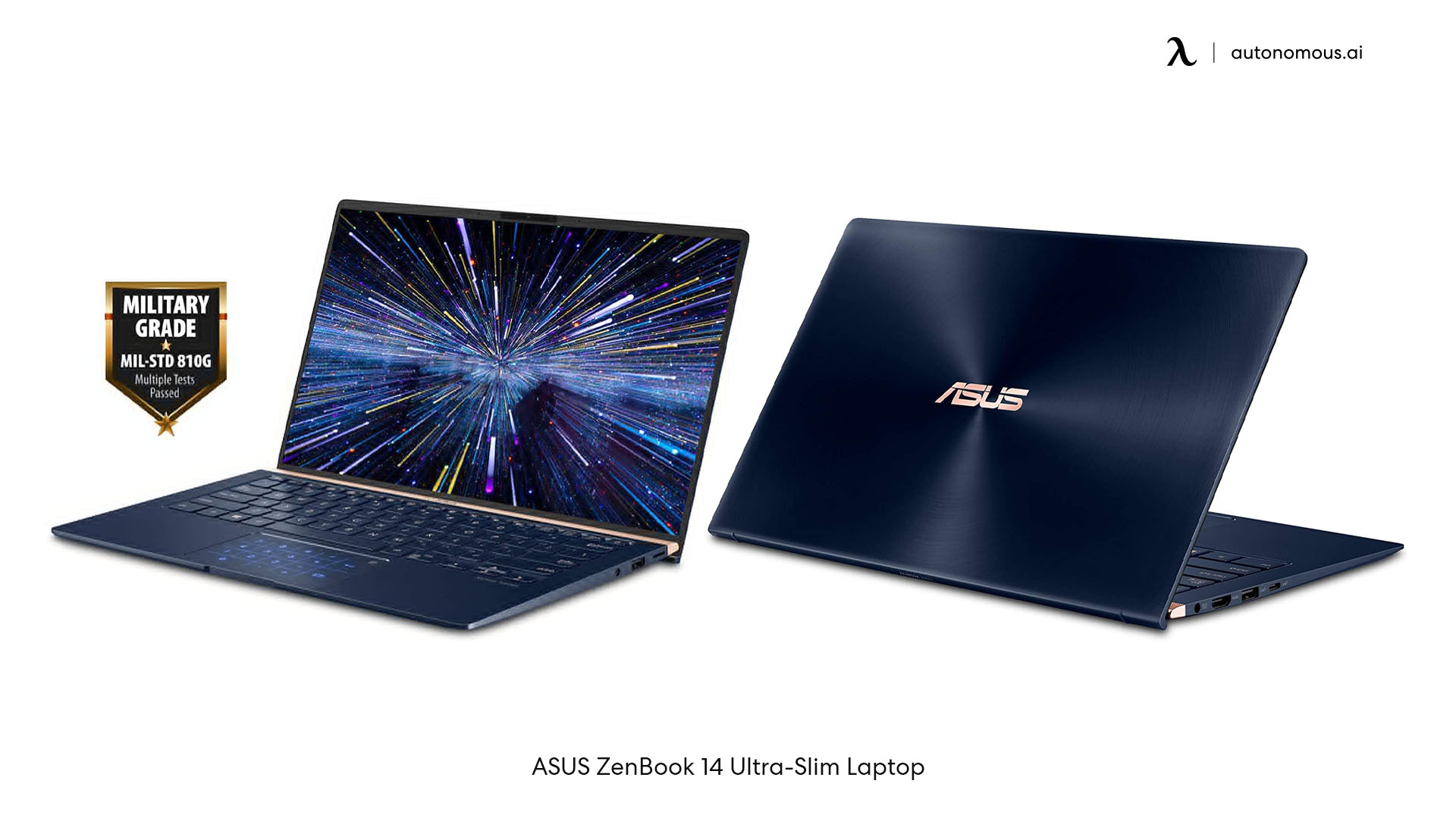 Work from home laptop: Asus Zenbook