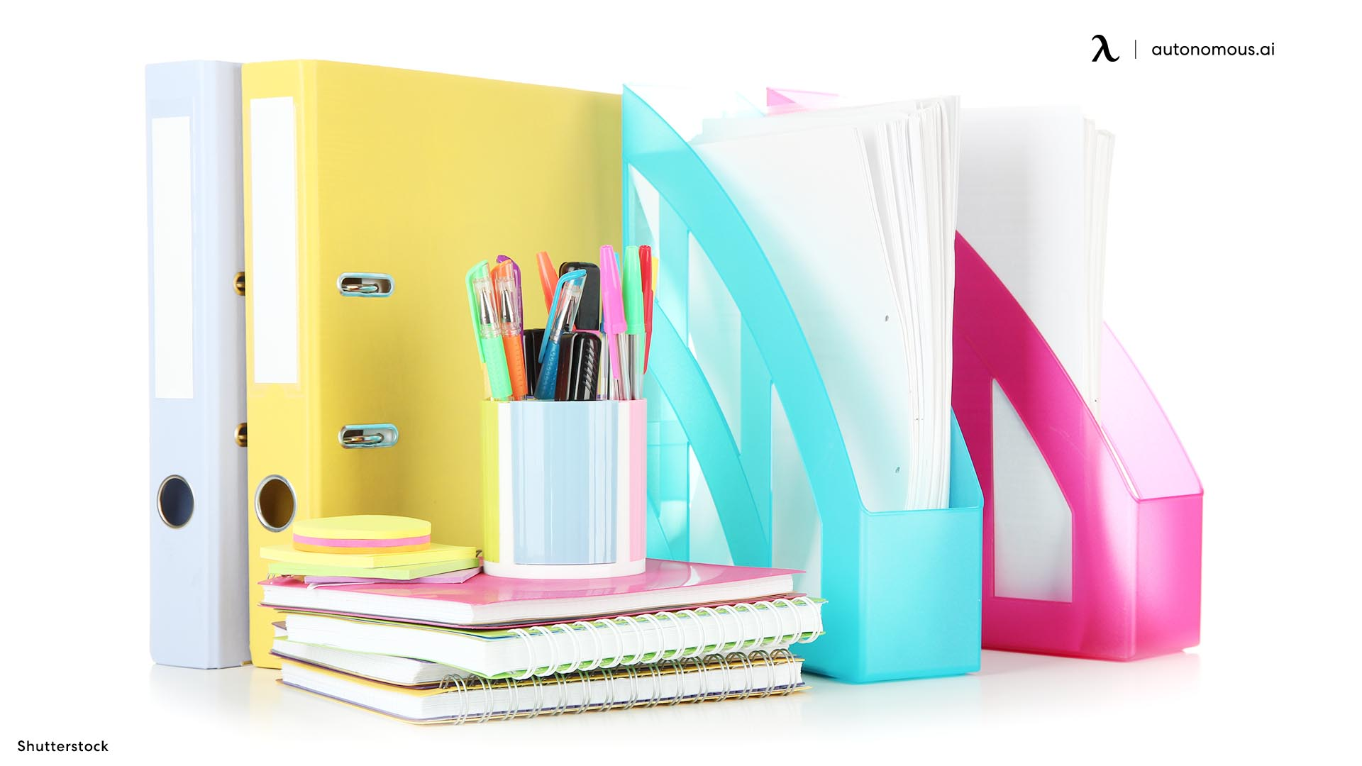 Office Stationery as work from home equipment
