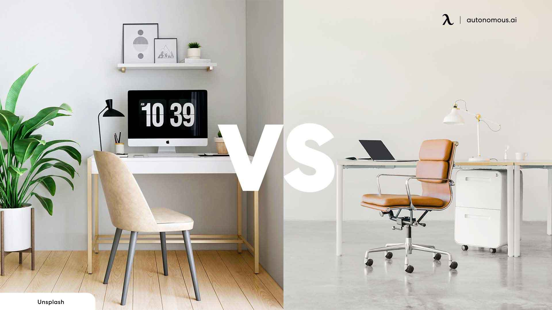 Difference Between Working from Home vs Office