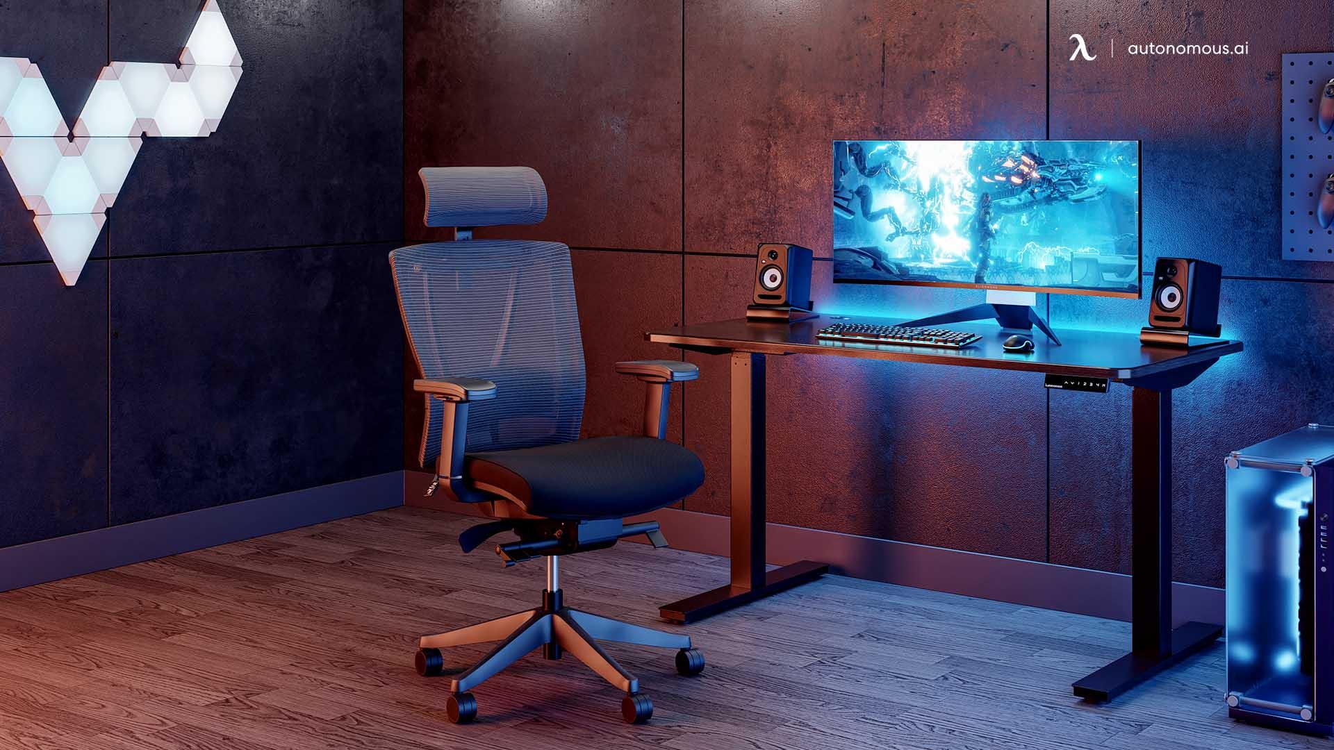 Simple but Effective Desk Setup
