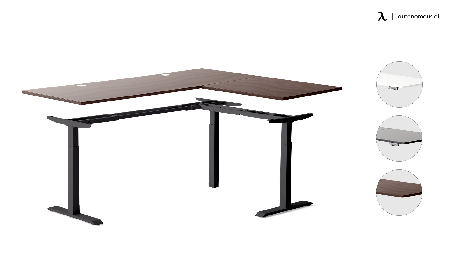 Standing Desk Frame as standing desk part