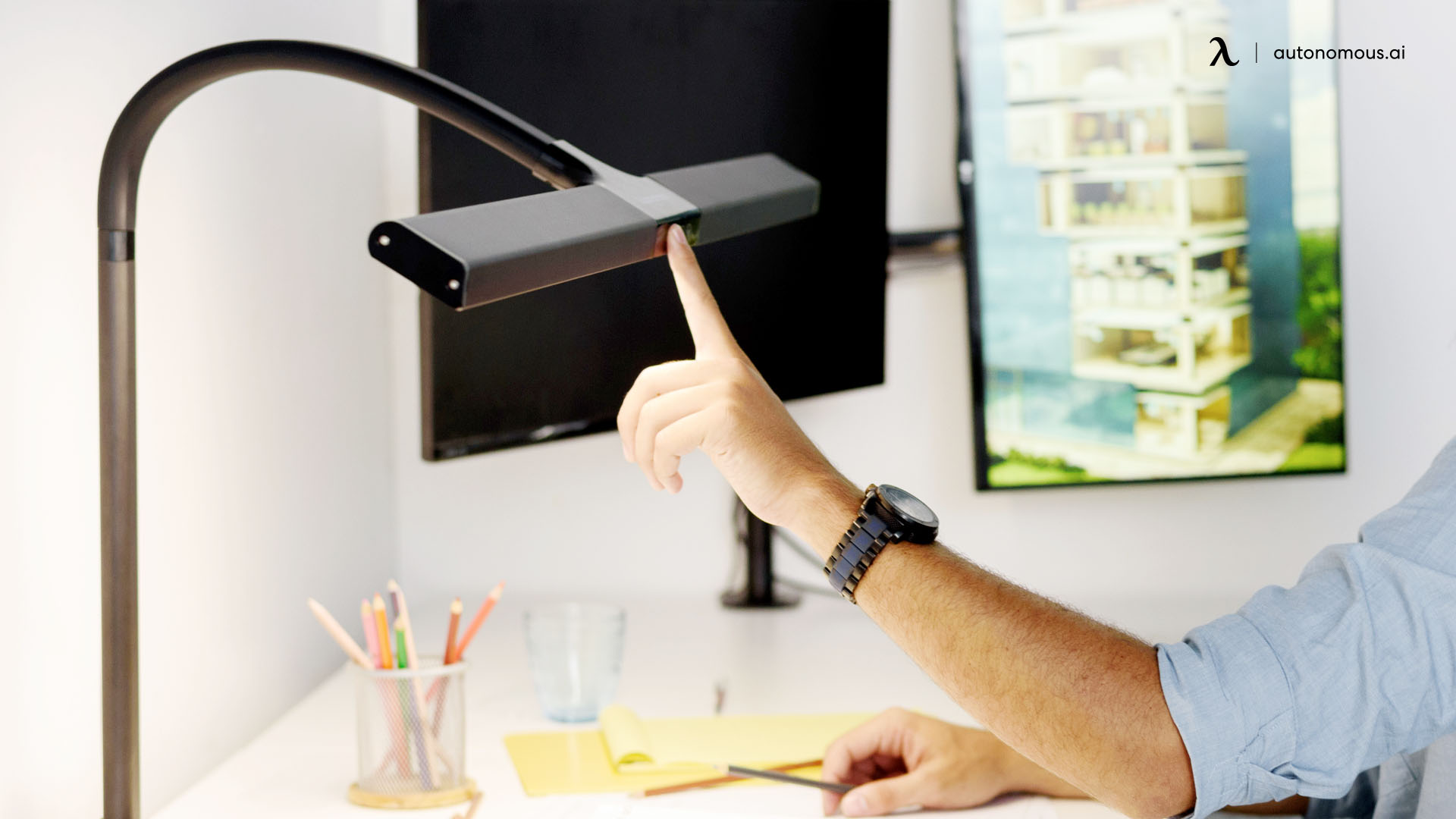 Desk Lamp as home office furniture