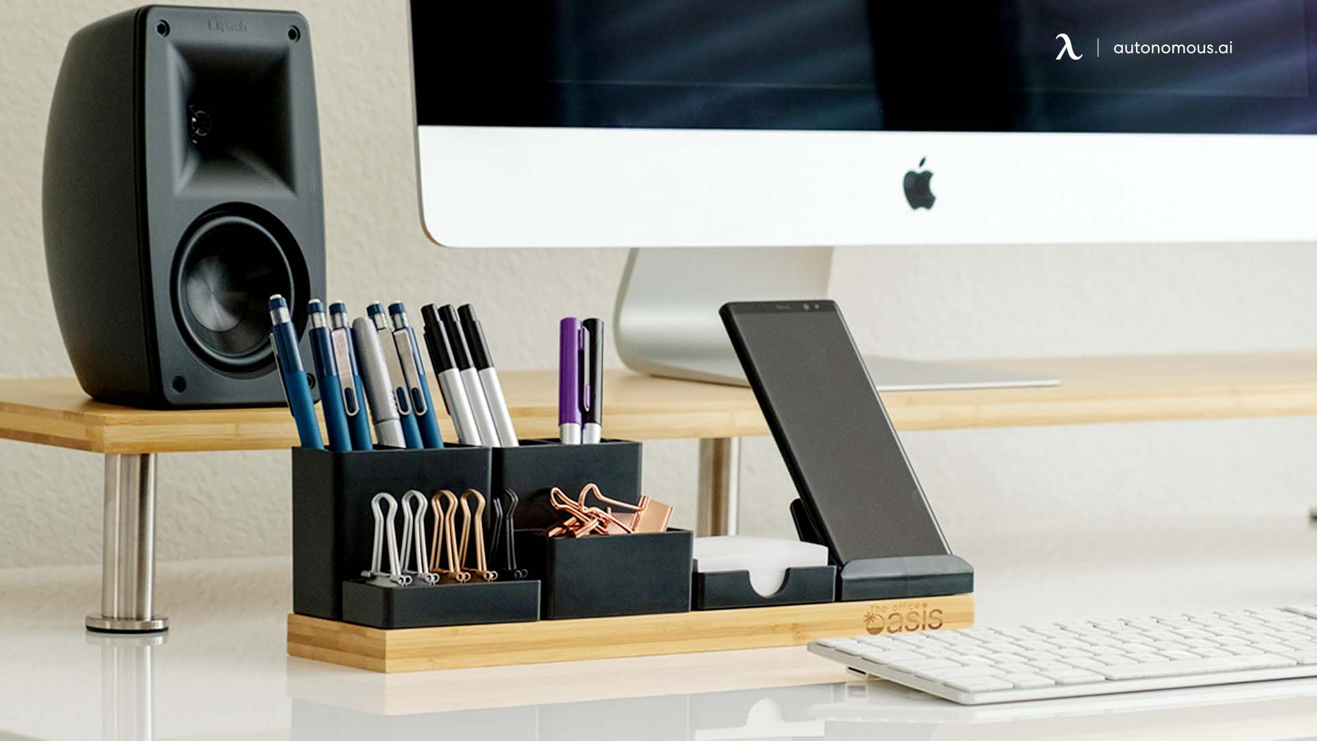 Organizer as home office furniture