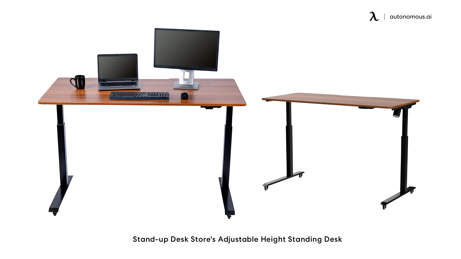 stand-up Desk Store's Height changing desk