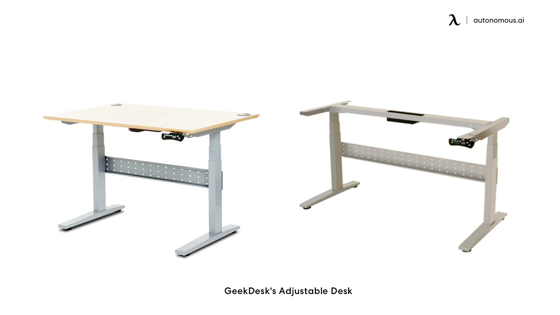 GeekDesk's Height changing desk