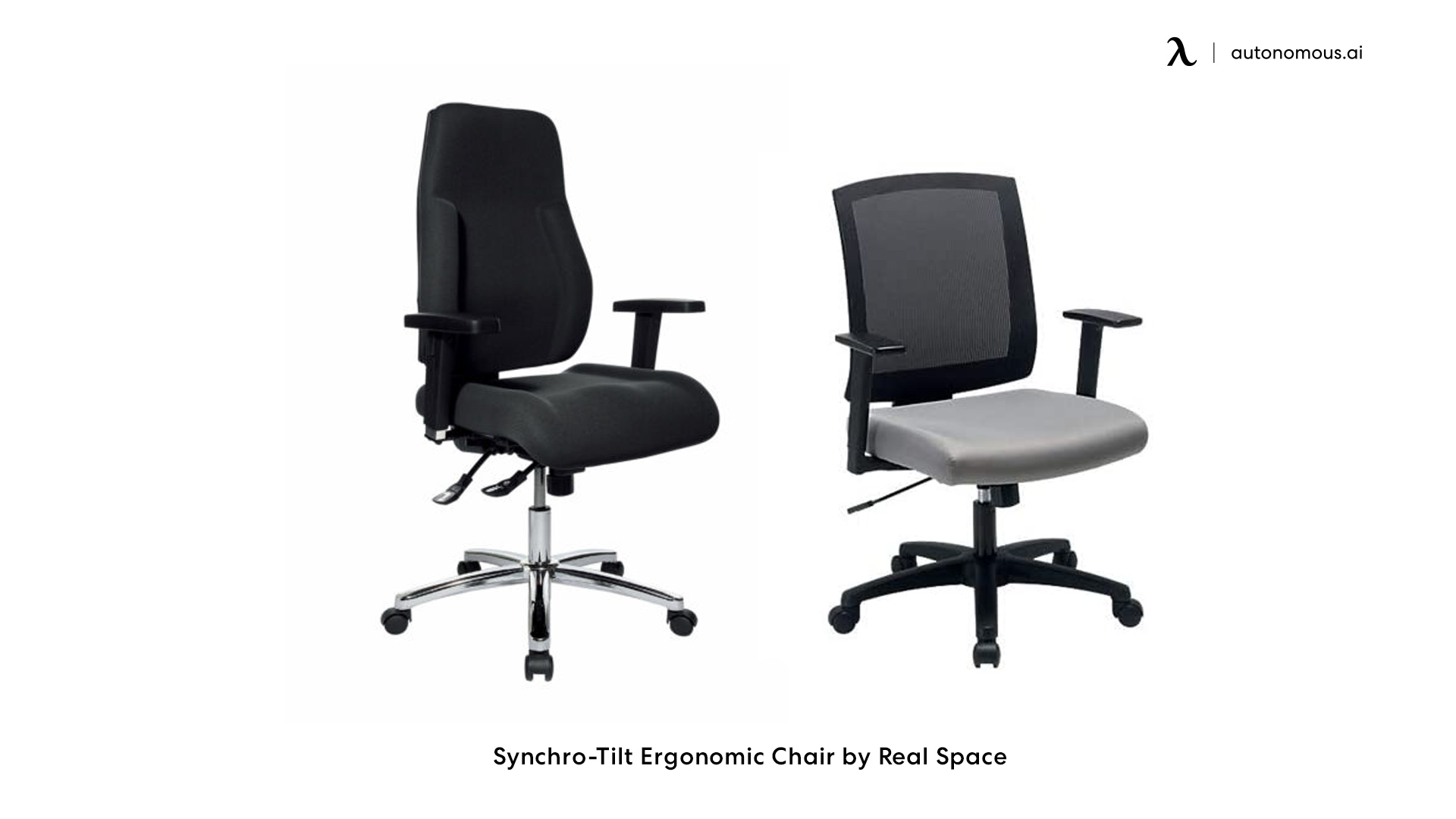 Synchro-Tilt Ergonomic Chair by Real Space