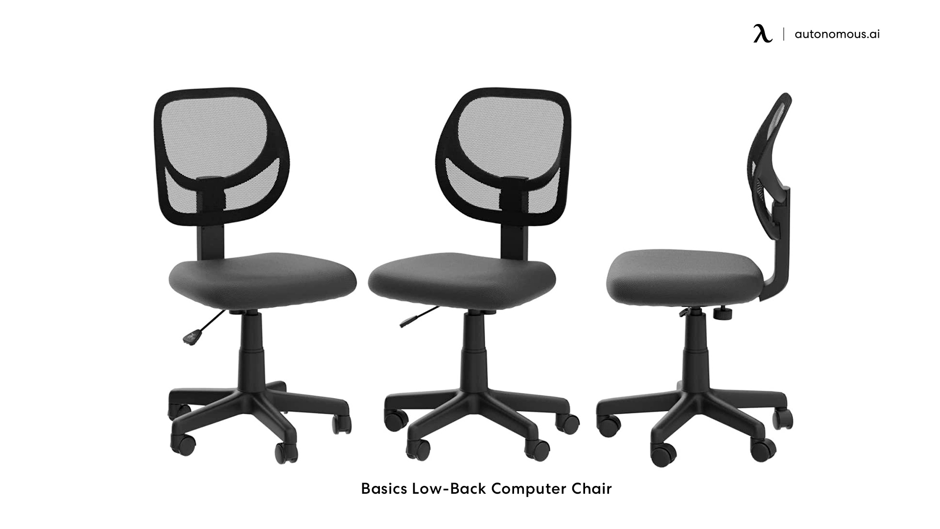 Basics Low-Back Computer Chair