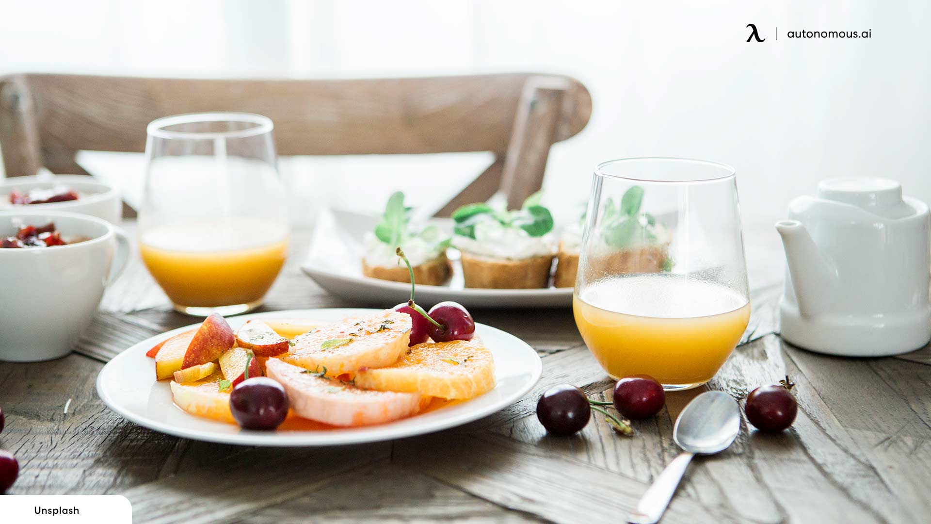 Eat healthily for home office health