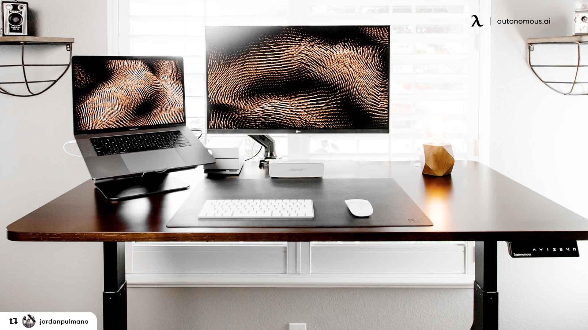 Professionalism in modern home office