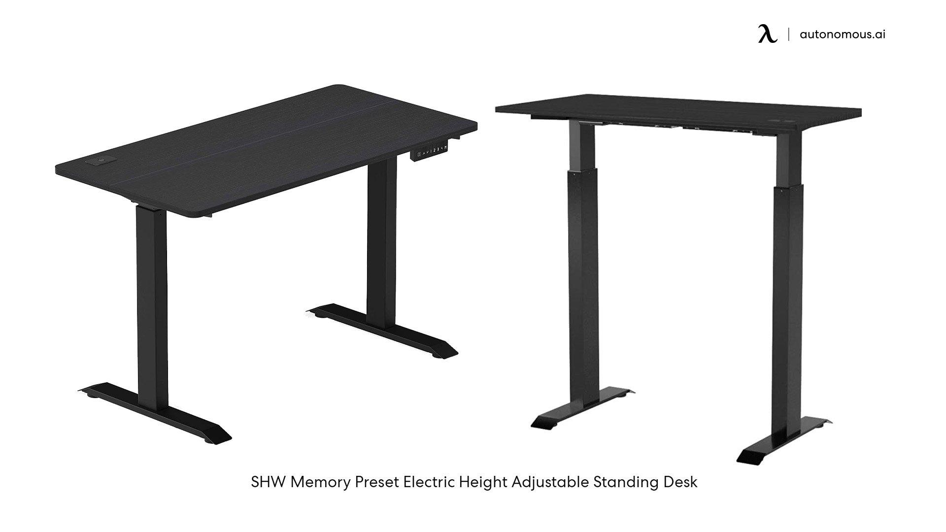 SHW Memory Preset home office desk