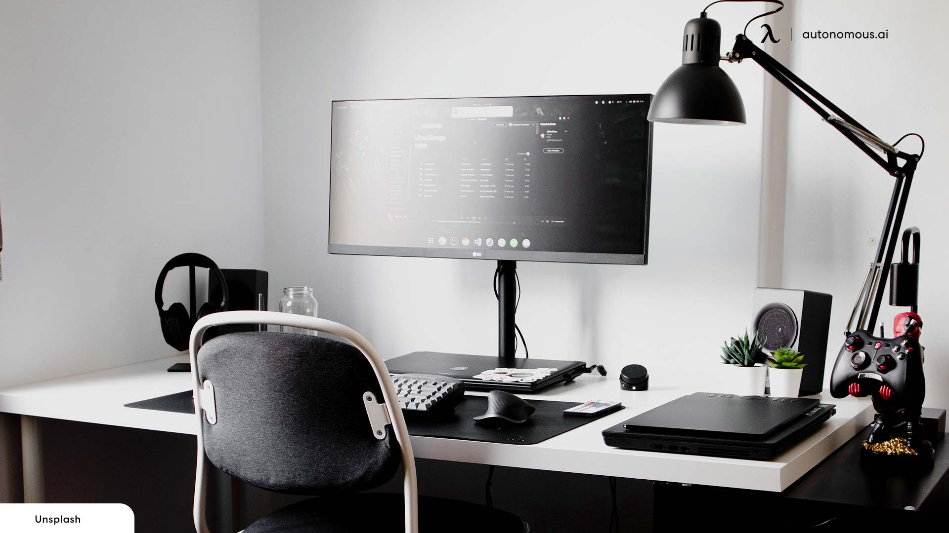 The Office Desk for home office makeover