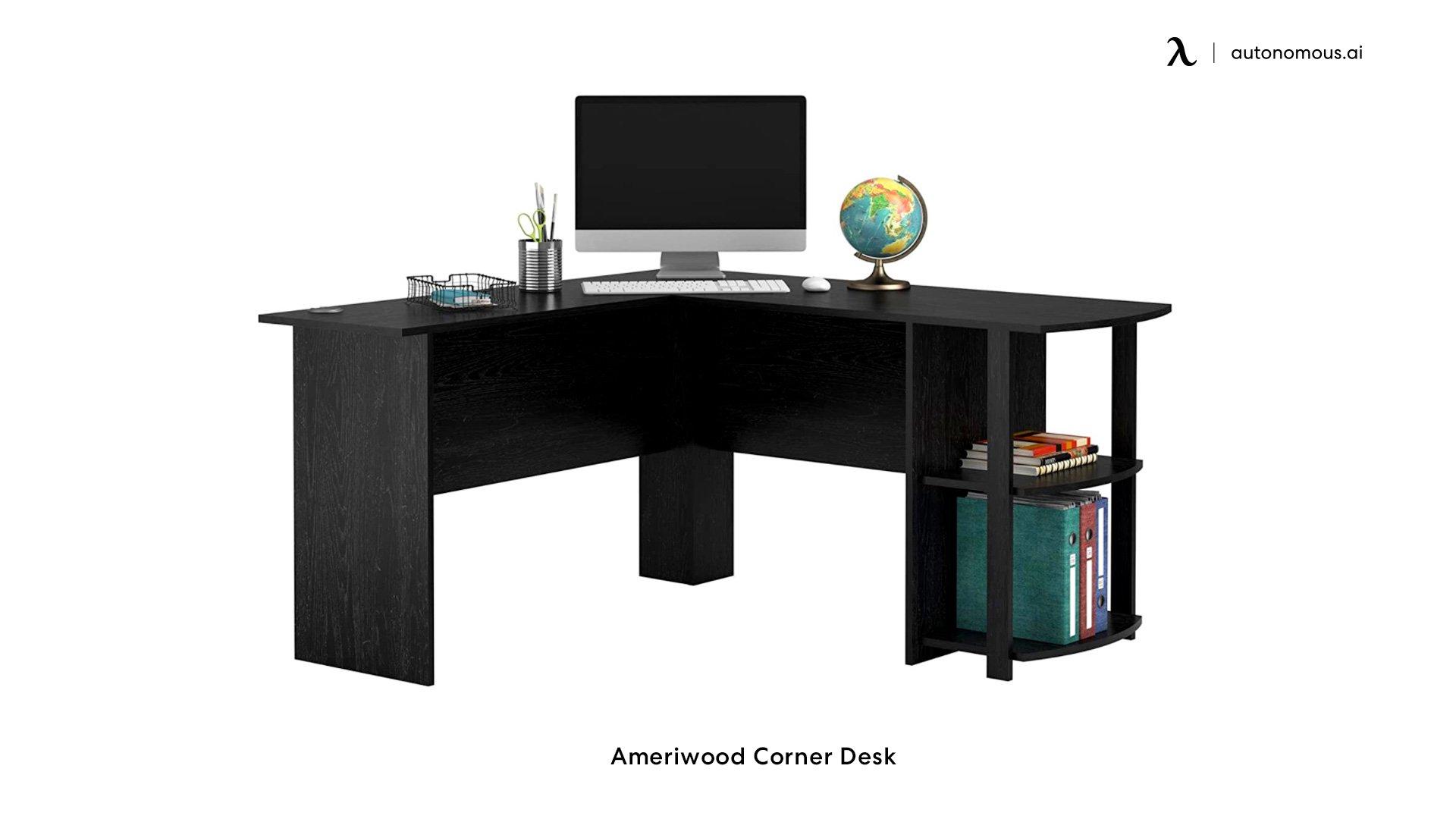 Ameriwood Corner standing desk