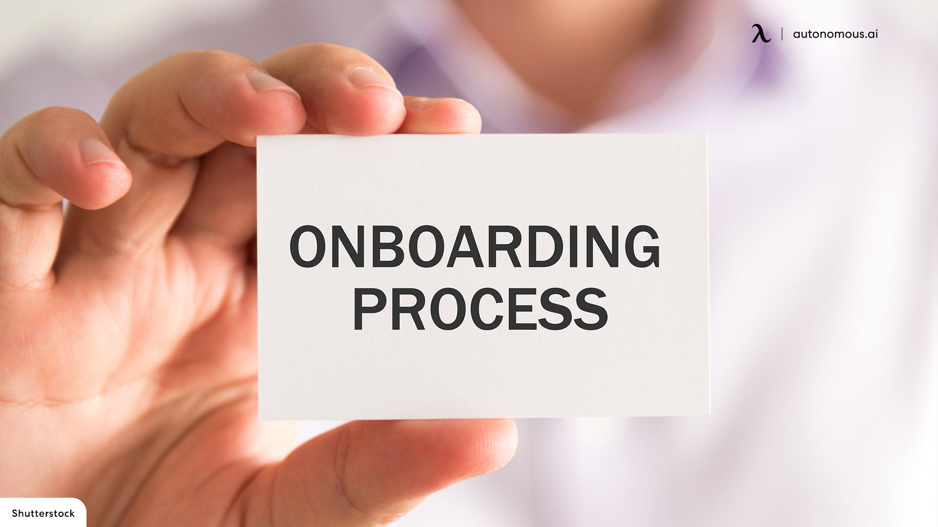 Virtual Onboarding Process