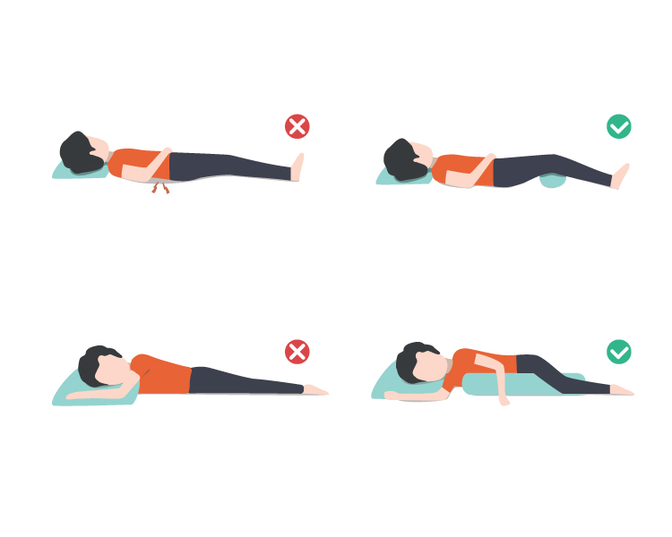sleep helps decrease back pain
