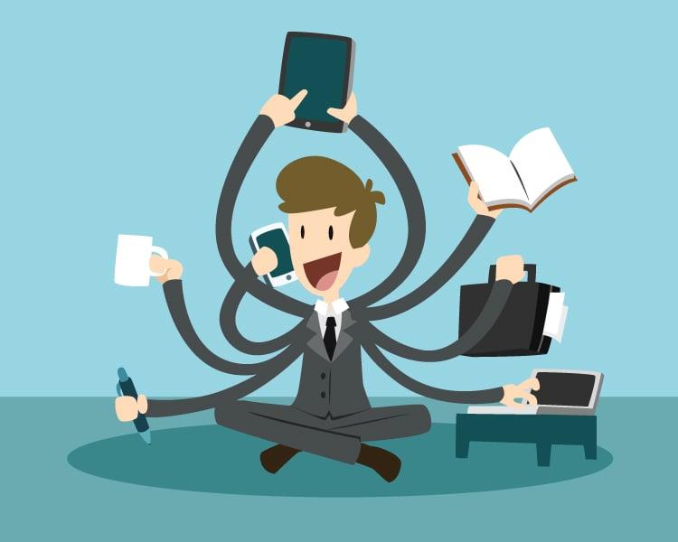 quit multitasking to increase productivity