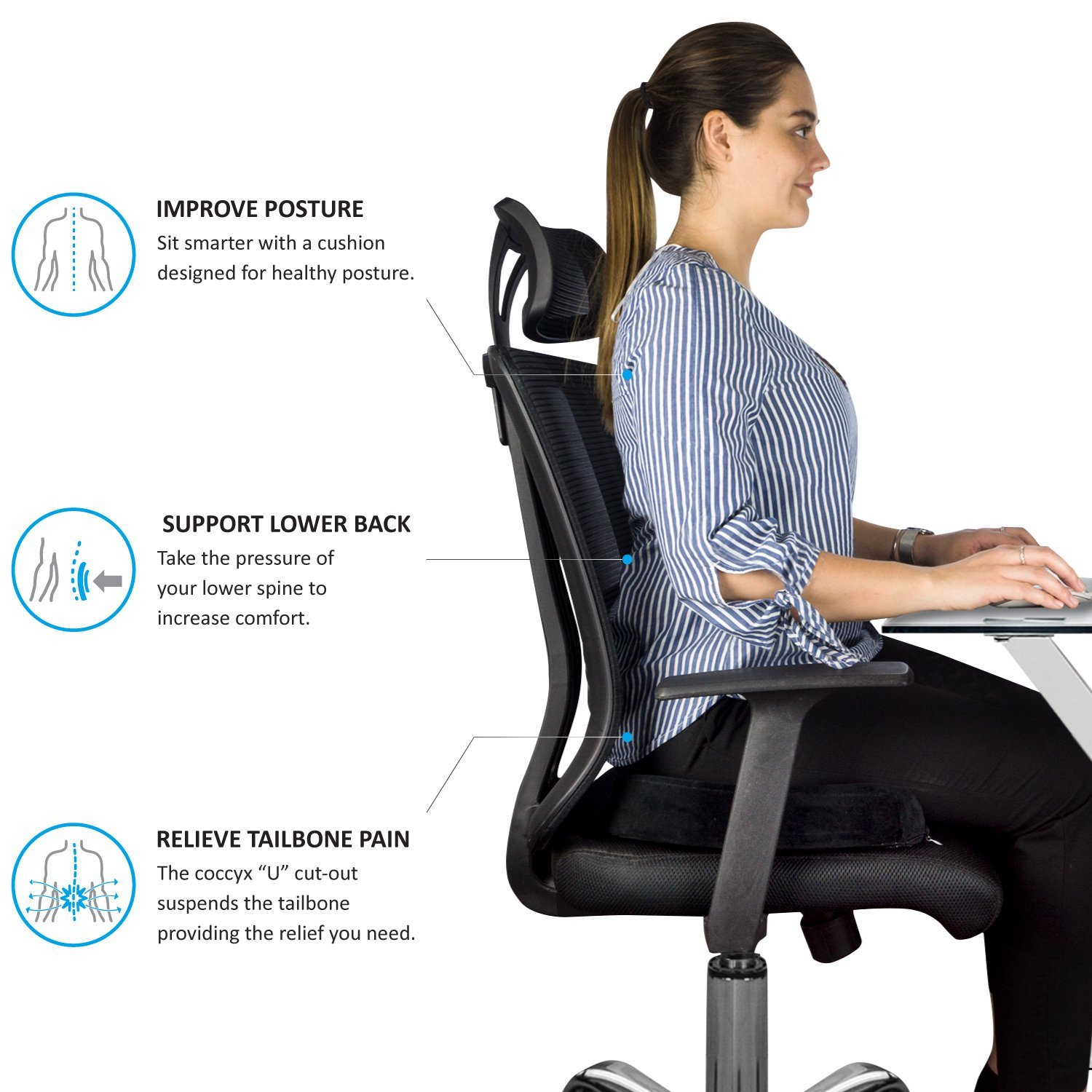 An Ergonomic Office Chair Is Great For A Tailbone Pain Autonomous