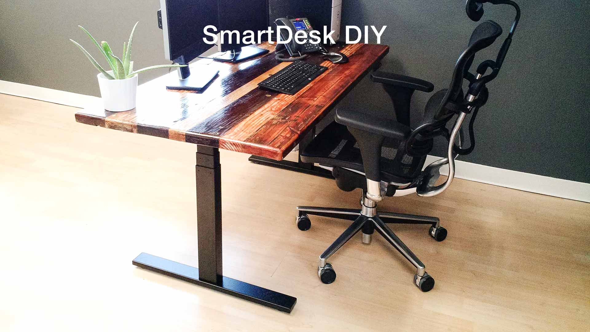 Strange Diy Standing Desk Adjustable With Smartdesk Kit Frame Home Remodeling Inspirations Propsscottssportslandcom