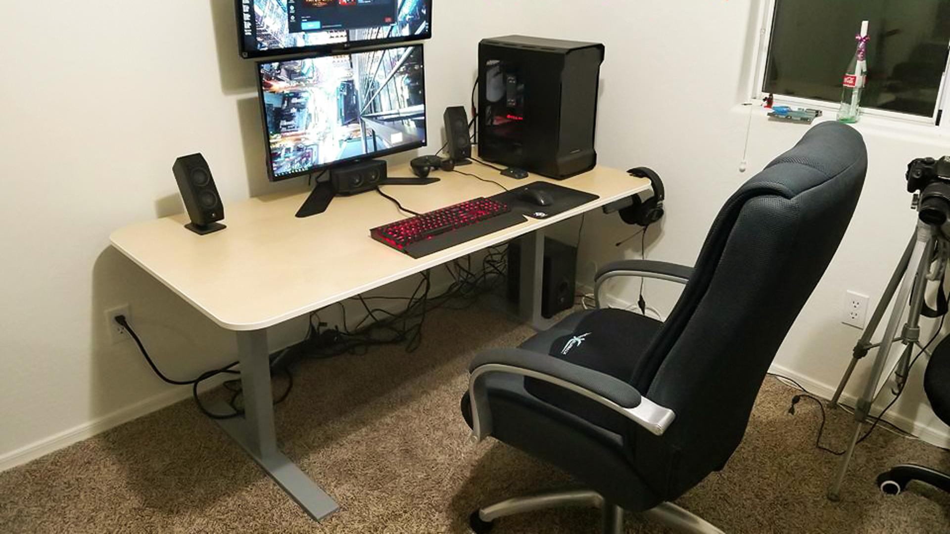 SmartDesk Kit frame - homemade standing desk