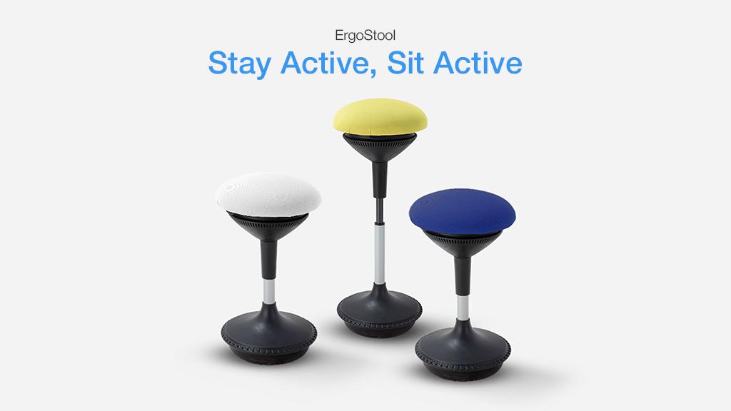ErgoStool - Best Ergonomic Office Stools For Active Sitting